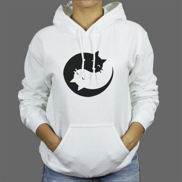 Majica ili duksa Cat yin yang 1