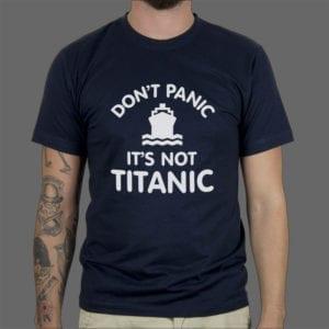 Majica Dont panic 2