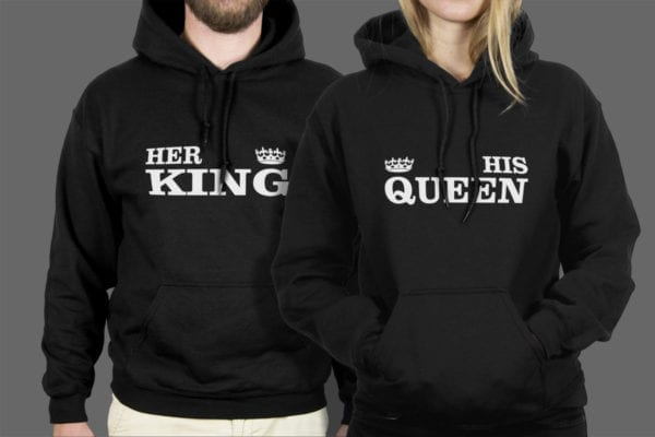 Majice ili dukse Her king His queen 1