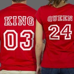Majice ili Hoodie King Queen 1a
