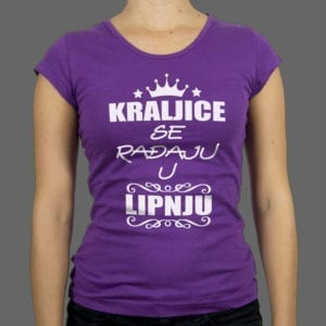Majica ili Hoodie Kraljice se rađaju 1