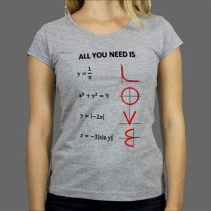 Majica ili duksa Love math 1