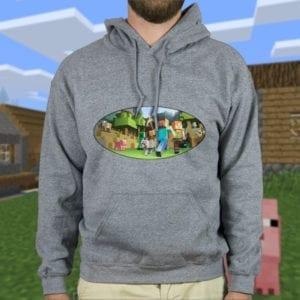 Majica ili Hoodie Minecraft 2
