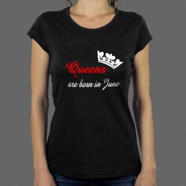 Majica ili duksa Queens are born 2