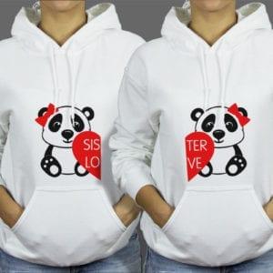 Majice ili Hoodie Sisters panda 1