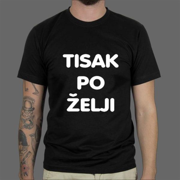 Tisak na mušku majicu