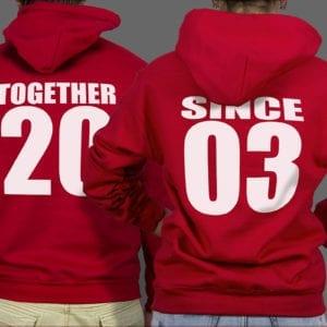 Majice ili Hoodie Together since 1