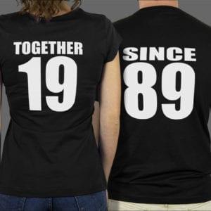 Majice ili dukse Together since 1