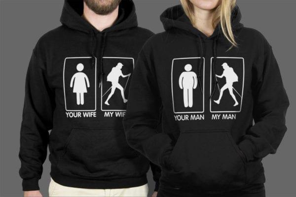 Majice ili dukse Wives Men 1 pair
