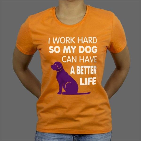 Majica ili duksa Work hard 2