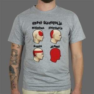 Majica Vrste glavobolja 1
