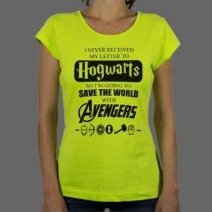 Majica ili duksa Hogwarts Avengers 1