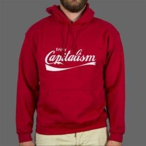 Majica ili duksa Enjoy capitalism 1