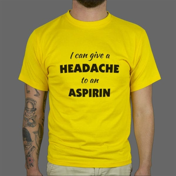Majica ili duksa Headache aspirin 1
