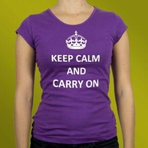 Keep calm majice
