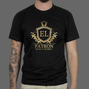El Patron1, majica, majica s kapuljačom