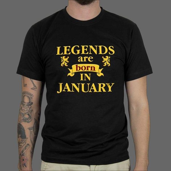 Majica ili duksa Legends are born 2