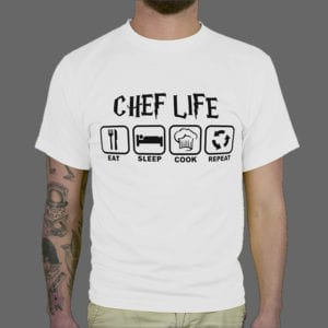 Majica ili duksa Chef life 1