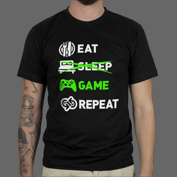 Majica ili duksa Eat sleep game 1