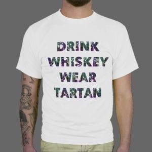 Majica ili Hoodie Tartan Drink Whiskey 1