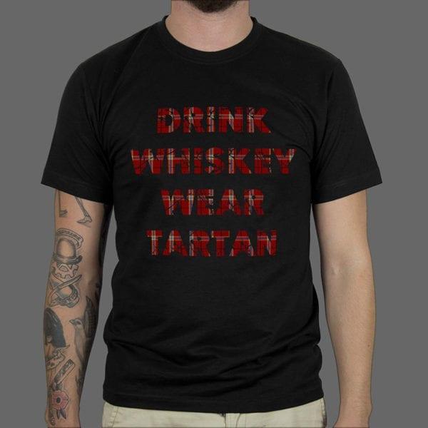 Majica ili Hoodie Tartan Drink Whiskey 2