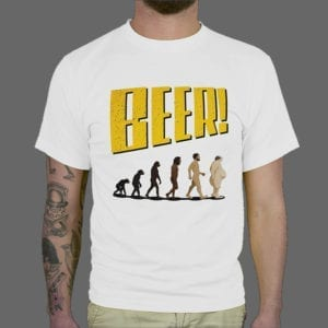 Majica ili Hoodie Beer Evolution 1