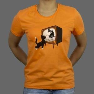 Majica ili Hoodie Cat TV boja
