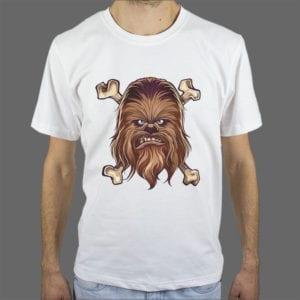 Majica Chewbacca 1 bijela