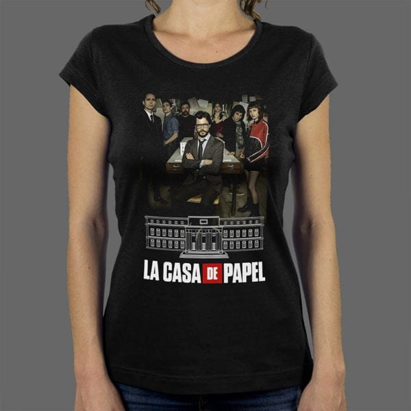 Majica La Casa De Papel 2