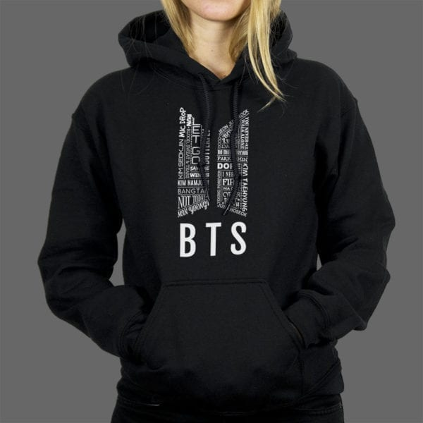 Majica ili Hoodie BTS 1 text