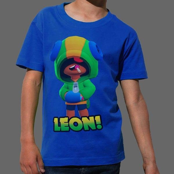 Majica ili Hoodie Brawl Stars Leon 1