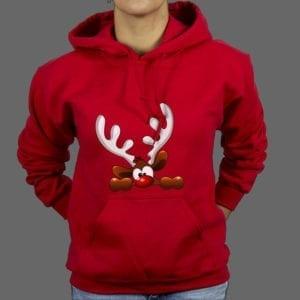 Hoodie Reindeer 6