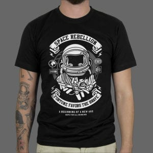 Majica ili Hoodie Space Rebellion 1