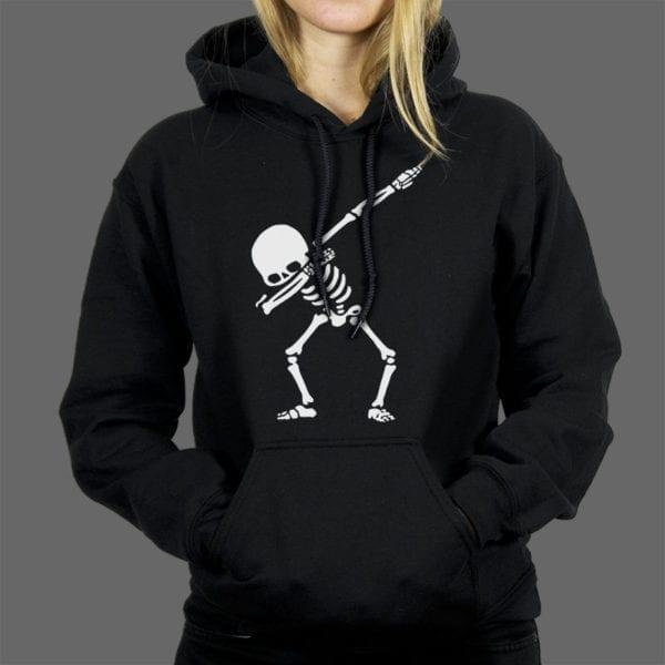Majica ili Hoodie Skeleton Dab