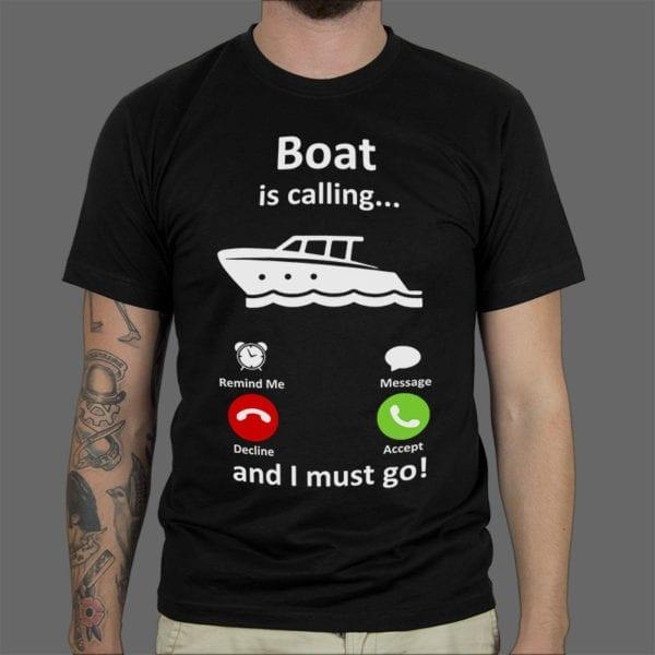 Majica ili Hoodie Boat Is Calling