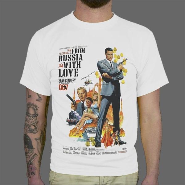Majica ili Hoodie Bond From Russia With Love 1
