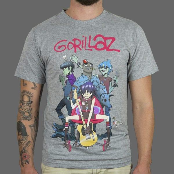 Majica Gorillaz Jumbo 4