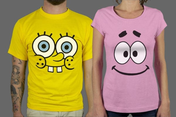 Majice ili Hoodie Spongebob & Patrik 1