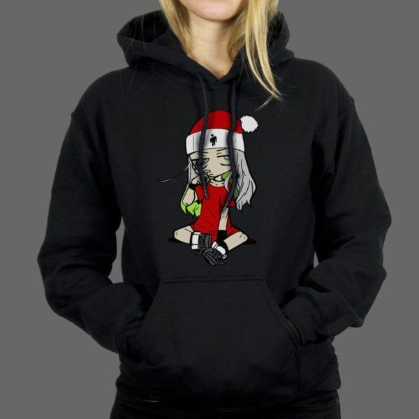 Majica ili Hoodie Billie Eilish Santa