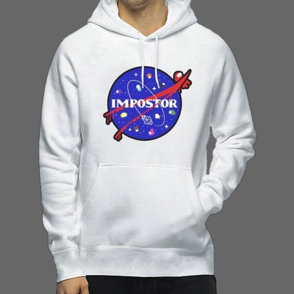 Majica ili Hoodie Among Us Impostor NASA