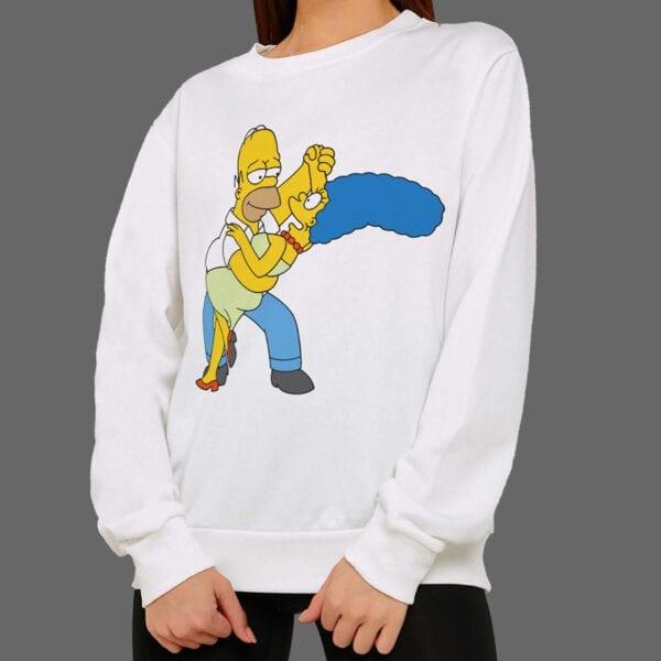Majica ili Hoodie Homer & Marge Dance