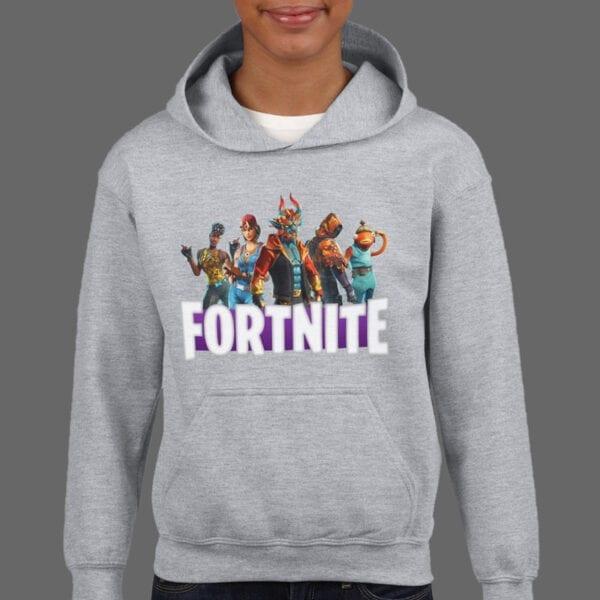Majica ili Hoodie Fortnite Cyan Full 1