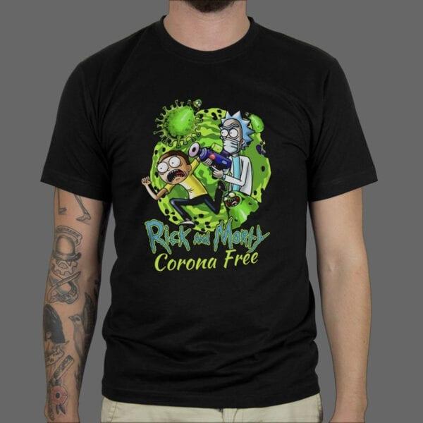 Majica ili Hoodie Rick & Morty Corona Free