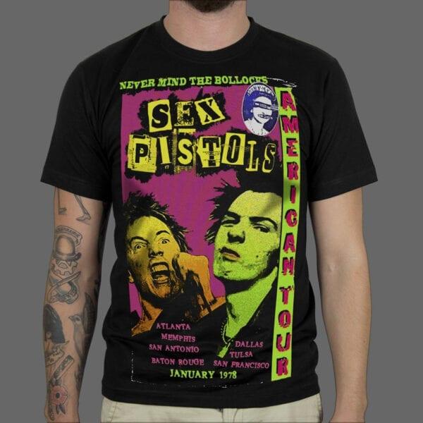 Majica Sex Pistols Tour 1987