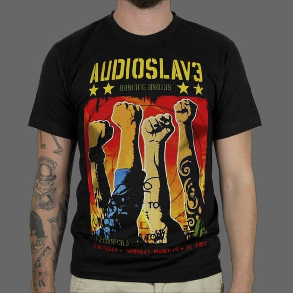Majica Black Audioslave Jumbo 1