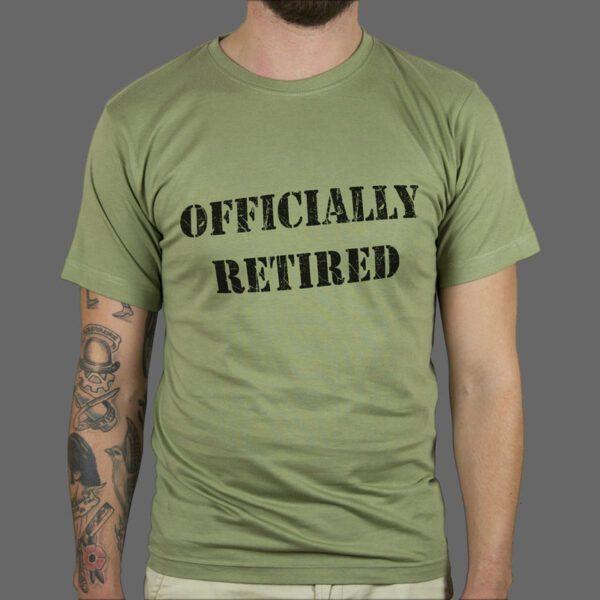 Majica ili Hoodie Officially Retired