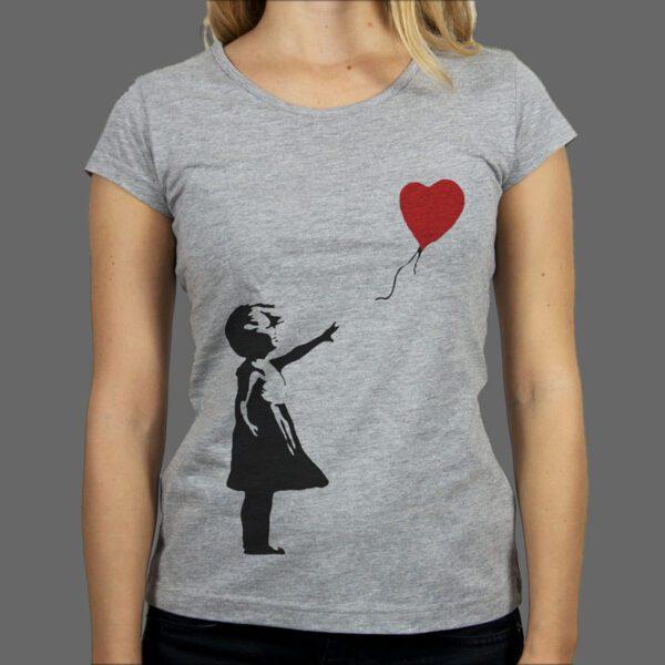 Majica ili Hoodie Bank Girl Balloon
