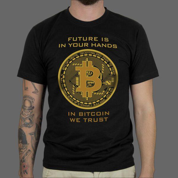 Majica ili Hoodie Crypto Bitcoin 3